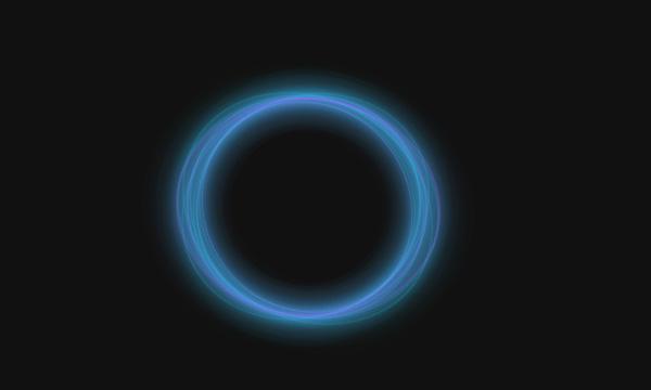 CSS3实现光感圆圈动画效果