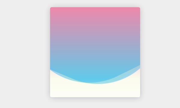 纯CSS3实现多彩波动动画