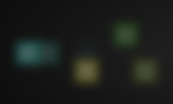 CSS3打造粒子模糊背景色块随机显示动画