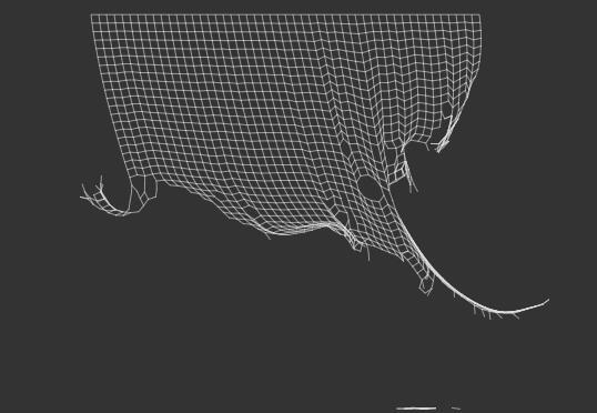 js+canvas实现的可撕扯网子特效
