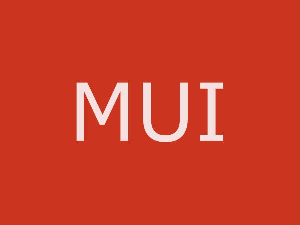 仿原生APP体验高性能前端框架MUI
