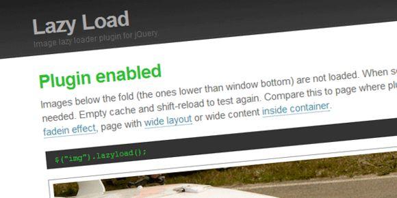 懒加载-图片延迟加载插件jQuery.lazyload